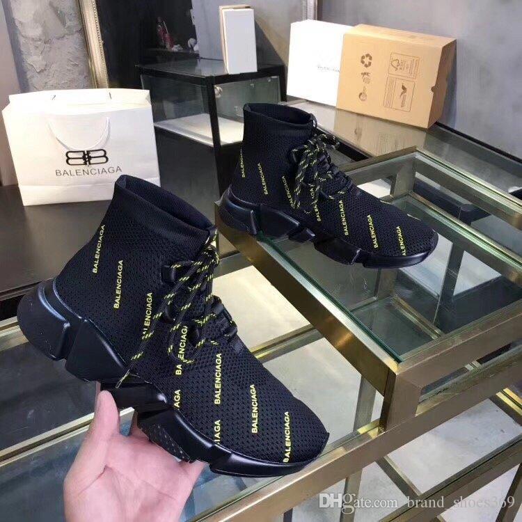 2020 YENİ FK lüks tasarımcı çift streç çorap ayakkabı çift çorap rahat ayakkabı yüksek kaliteli