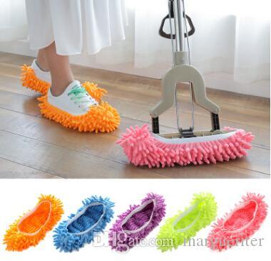 الشنيل شبشب الأحذية غطاء التنظيف ممسحة البيت الحمام غرفة المعيشة للإزالة الطابق الغبار الأنظف أدوات التنظيف