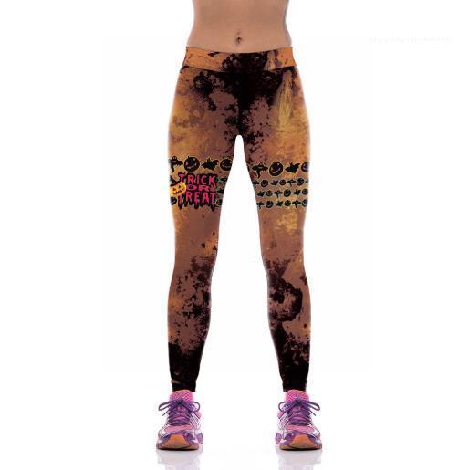 Womens Yoga Pantolon Sıcak Satış İnce Açık Kapalı Spor Kadın Pantolon Yeni Moda Yoga Pantolon Dijital Baskılı