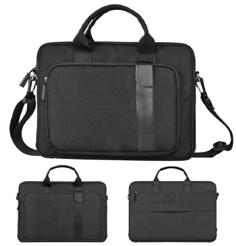 bolsos de lujo diseñador para portátil macbook 14 pulgadas de descompresión que transporten bolso manga Multi-funcional bolsa repelente al agua de poliéster