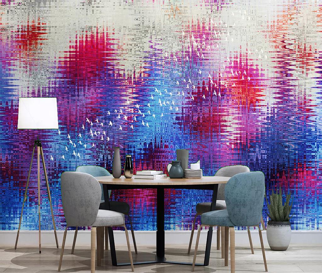 El papel para pared [autoadhesivo] 3D Graffiti WG0612 mural Impresión de la pared pared de la etiqueta murales Muzi