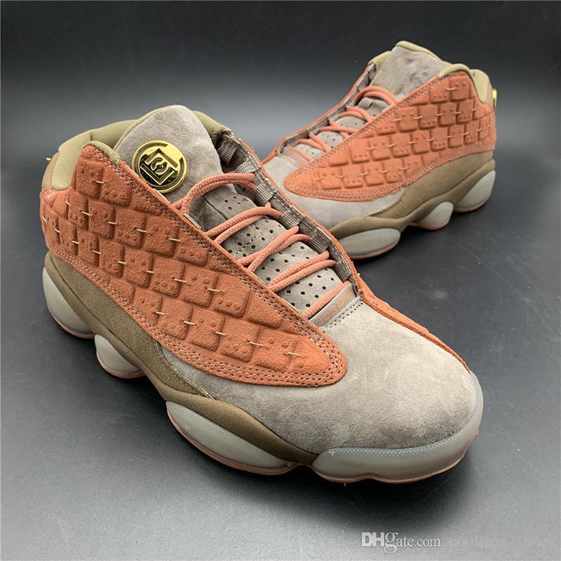 CLOT X 13s Low Terracotta Warriors