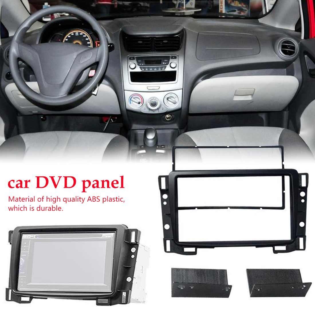 2019 2 Din DVD стерео панель Радио фасции Заверните Рамка Каркасные Аудио Конверсия для Chevrolet Sail автомобиля