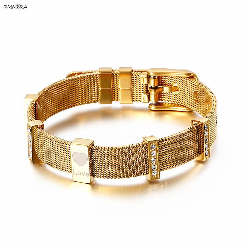 New Classic Wide Quality Браслет для женщин 3 цвета ширина пояса вахты браслет ювелирных изделий Подвески из бисера для женщин браслет