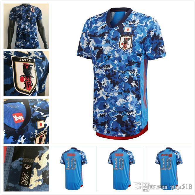 Versión del jugador 2019 2020 Japón camiseta de fútbol local equipo nacional ATOM KAGAWA ENDO OKAZAKI NAGATOMO HASEBE KAMAMOTO camiseta de fútbol