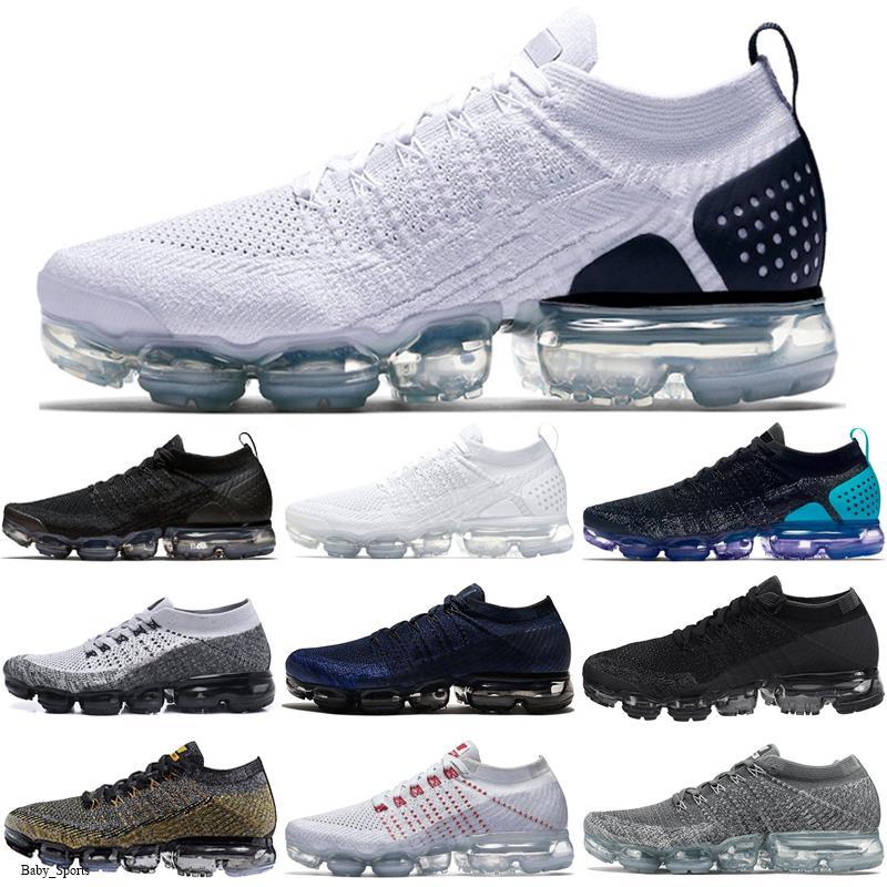 NikeAirVaporMax2018 2018 beiläufige 2,0 BE TRUE Designer der Frauen Männer Shock Schuhe für Real Quality-Mode-Männer Freizeitschuhe Größe 36-45