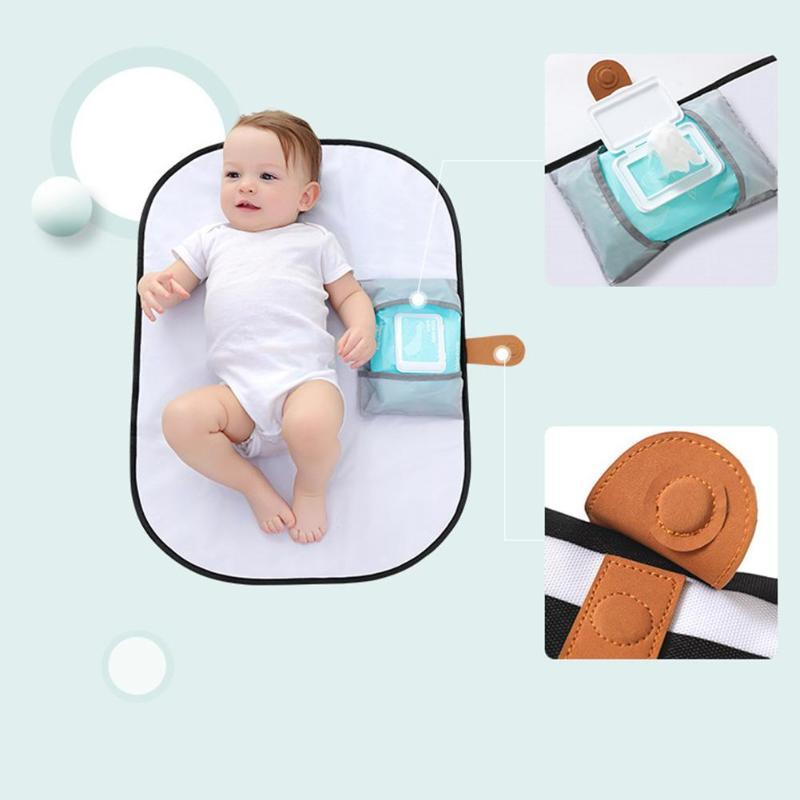 Baby Travel Portable Stroller Waterproof  Foldable Nappy Diaper Changing Mat CB