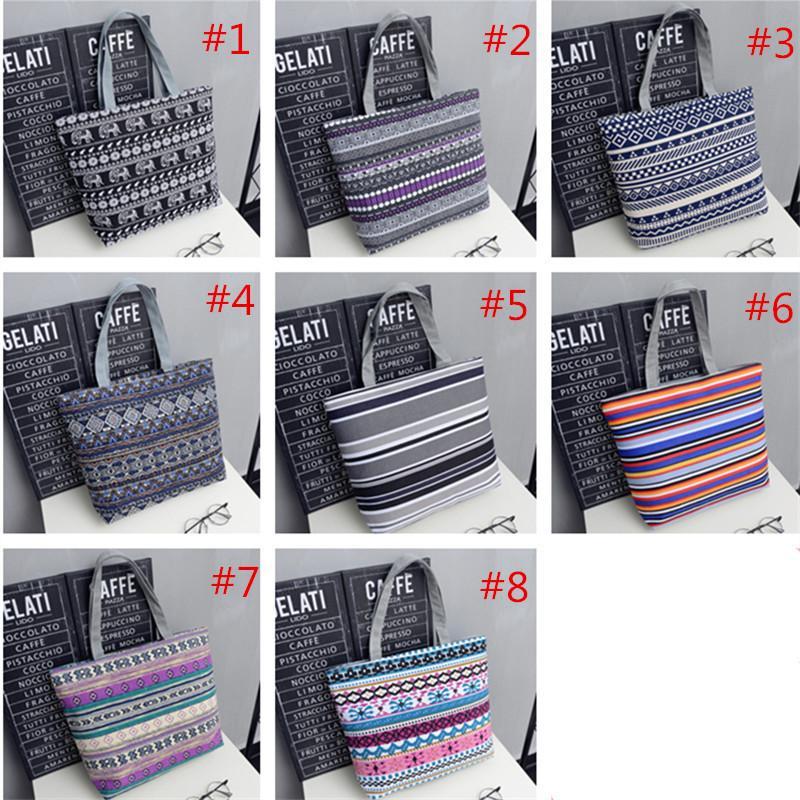 Новая сумка для женщин Холста сумки Моды большой емкости высокого качества мешка плечо подростковой девушки школа леди плечо сумка женщины 8 цветов