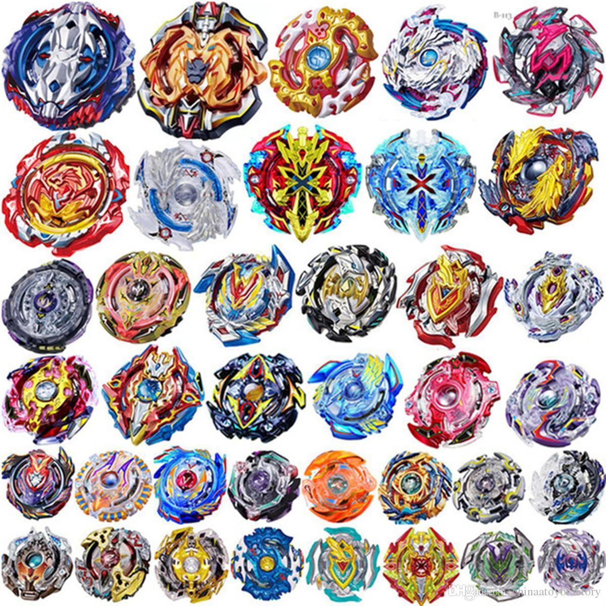 4D Beyblades Bey blades 28 Patterns Without Launcher and Box Toys Toupie Beyblade Burst Arena Metal Fusion God Spinning Top Bey Blade boys