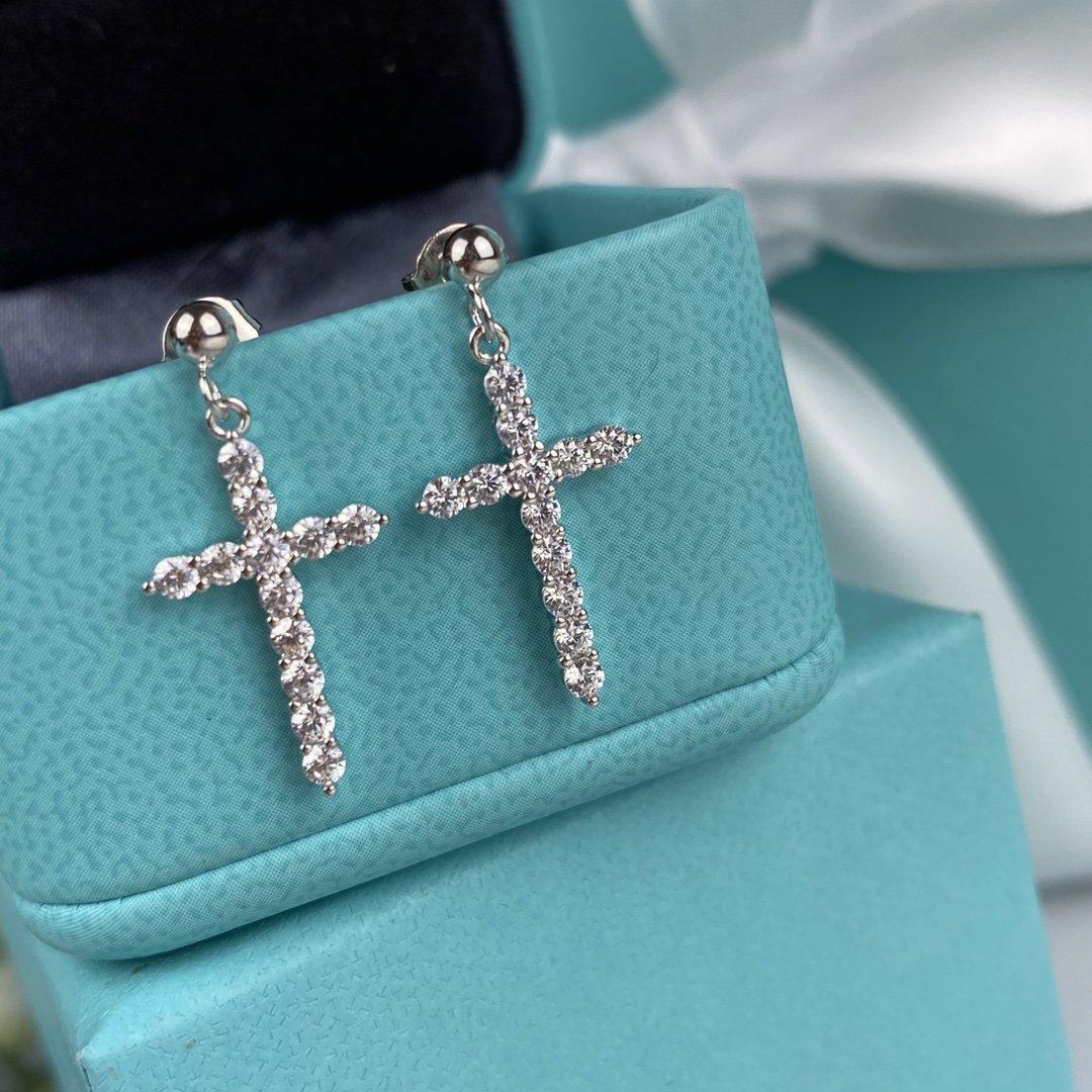 mulheres de luxo de jóias transporte dom gratuito Designer de jóias Brincos S925 prata 5A Zircon Partido Dangle brincos