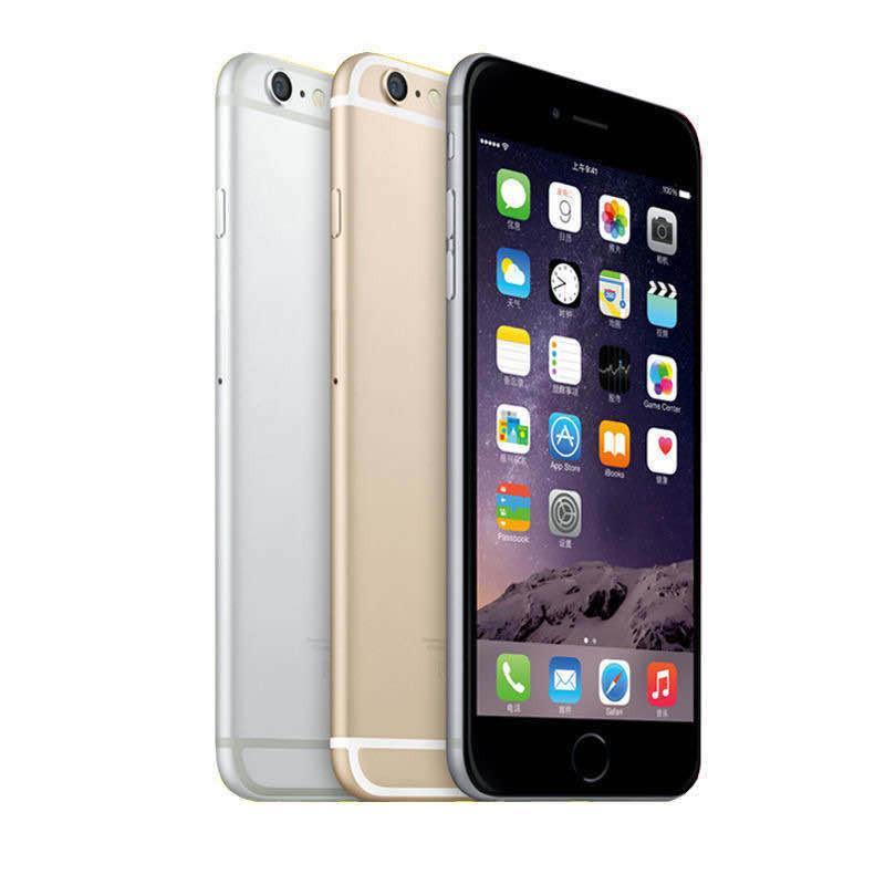 """Original Unlocked iPhone 6 Plus mobile phone 5.5"""" Dual Core 16G/64GB/128GB Rom IOS iphone 6plus 8MP Camera 4K video LTE"""