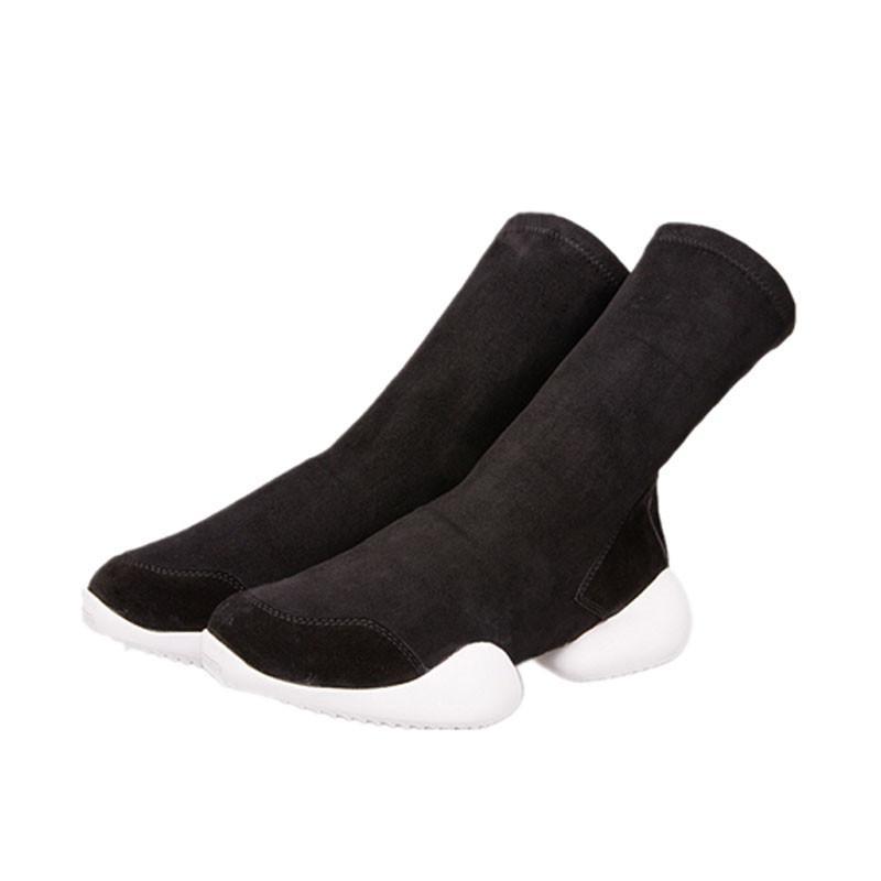 Мужские натуральные кожаные туфли мода ковбойские сапоги для мужчин замшевые кожаные ботинки 10 # 22/20e50