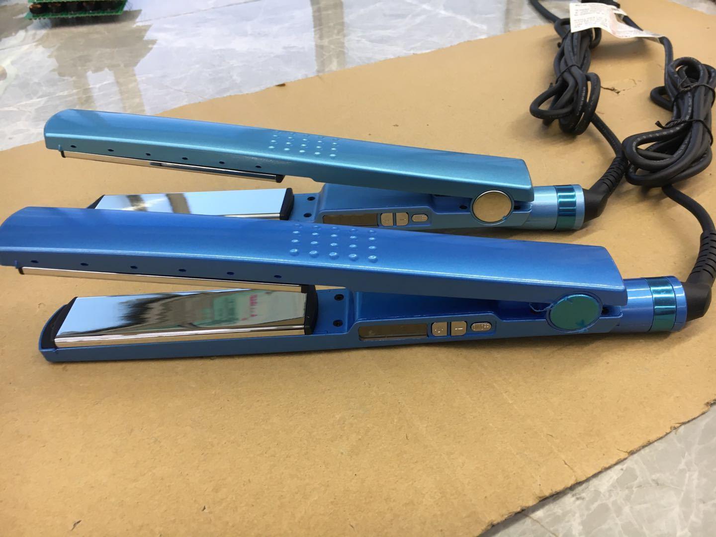 جديد! PRO-نا لا! TITANIUM 1 1/4 لوحة الحديد المسطح أيوني شعر مستقيم DHL الشحن المجاني