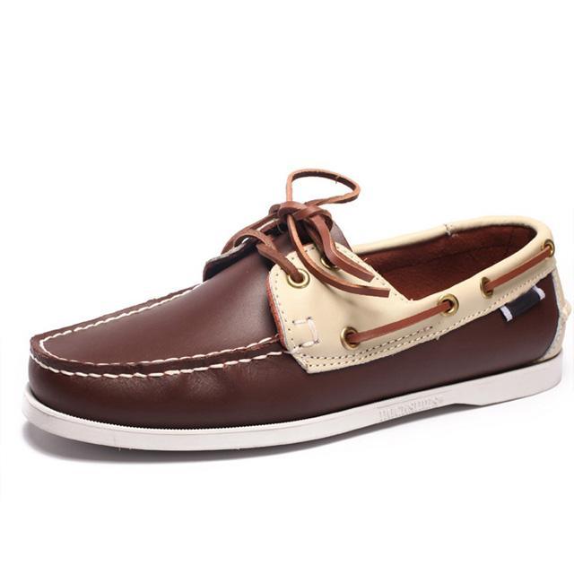 Мода Мужская обувь лодки большого размера Мужская обувь Повседневная обувь для мужчин Dockside 5 # 20 / 20d50