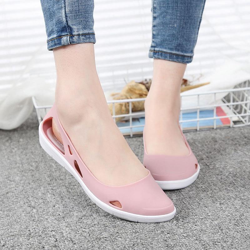 Обувь женщины сандалии очистить обувь прозрачный Пип Toe города Нуоро рубашка пляж свободного покроя Sandalias mujer свободного ertw
