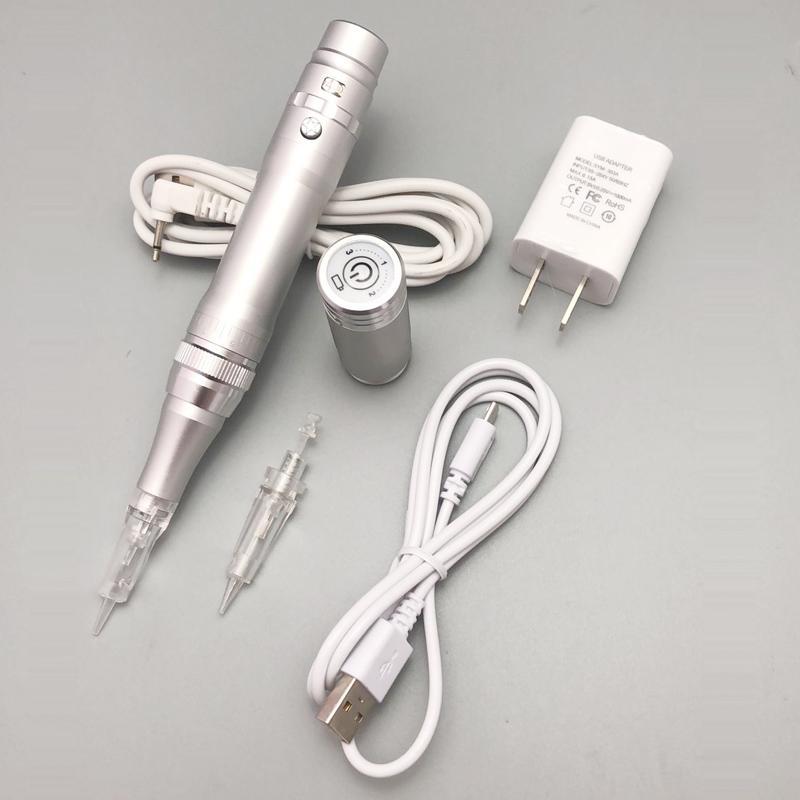 جودة عالية لاسلكية آلة الوشم الحاجب الجمال الكهربائية ماكياج الدائم آلة القلم مع إبر خرطوشة