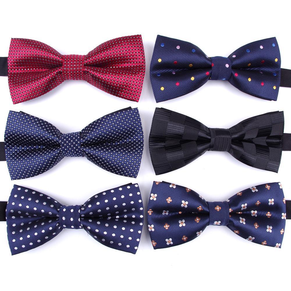 Bowtie Groom Ties formal necktie boy Men's Fashion business wedding bow tie Male Dress Shirt krawatte legame gift