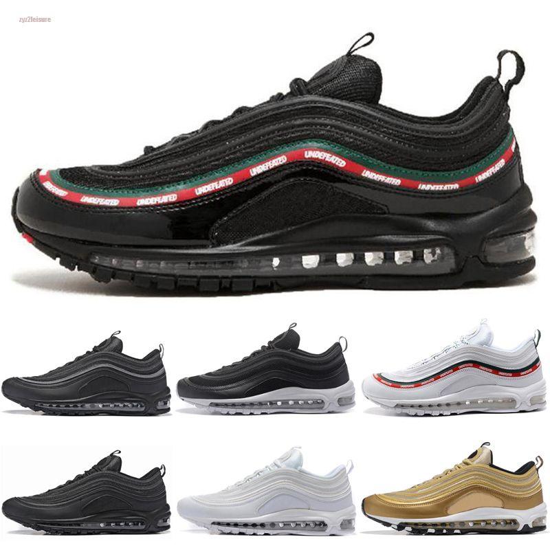 Nike air max 97 2020 Hava Yenilmez ultra Koşu Ayakkabı Silver Bullet Altın beyaz Erkekler kadınlar Casual maxes Eğitmenler Tasarımcı Spor Spor ayakkabılar Chaussures