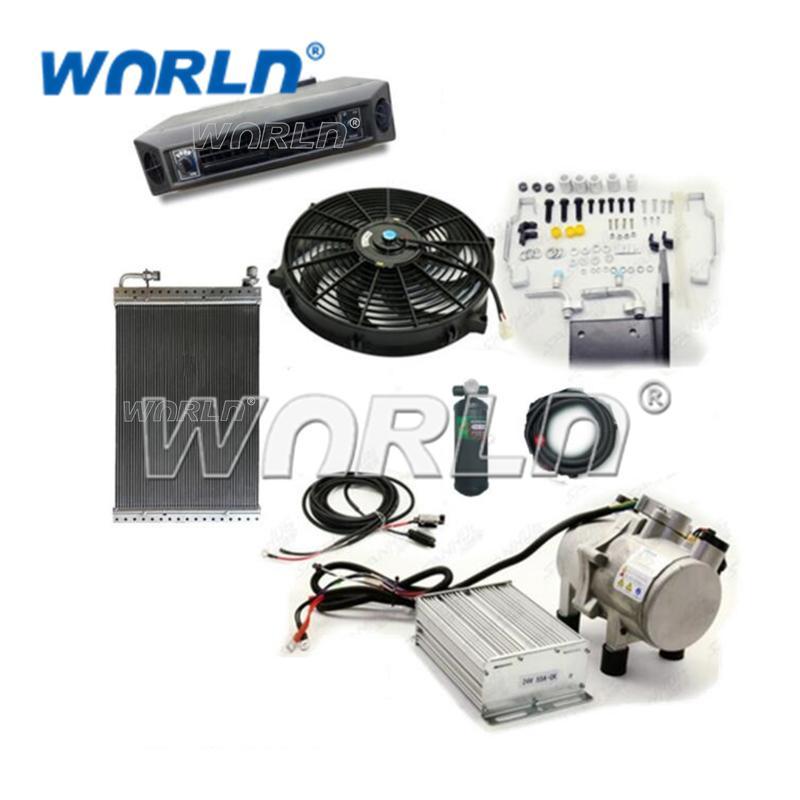 가솔린 24V 보편적인 조절기 회의 트럭 굴착기 모형 부속품 없는 자동 AC 공기조화 WXAS0003