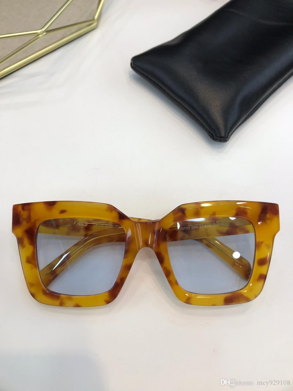 Case Proteção 40130 homens Óculos de sol simples Óculos de sol UV400 Popular com mulheres Outdoor Verão Novos Mens Venda Por Atacado Eyewear FA PCHVS