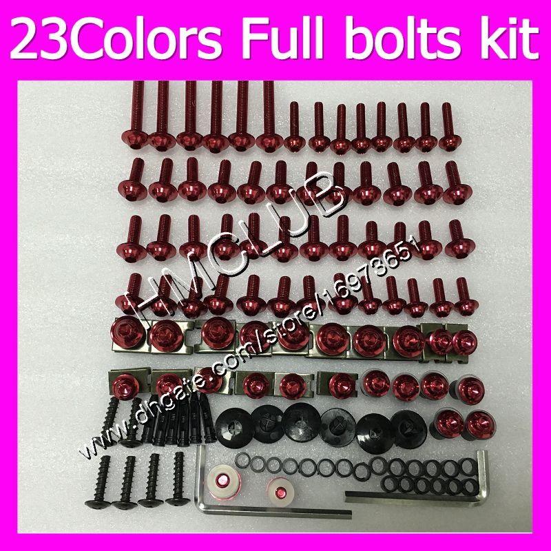 and Hardware Complete Motorcycle Fairing Bolt Kit Honda CBR900RR CBR919RR Fireblade 1998-1999 Body Screws Fasteners