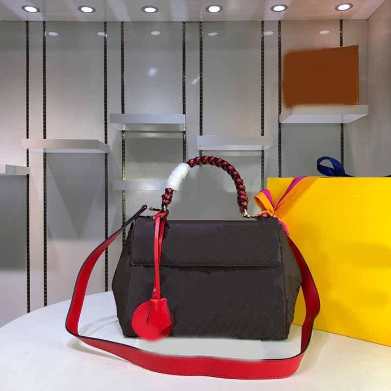 Клюни дизайнер сумки кошелек классический моды сумка женщины Crossbody 2019 Новый стиль США стиль Подлинная кожаный мешок леди