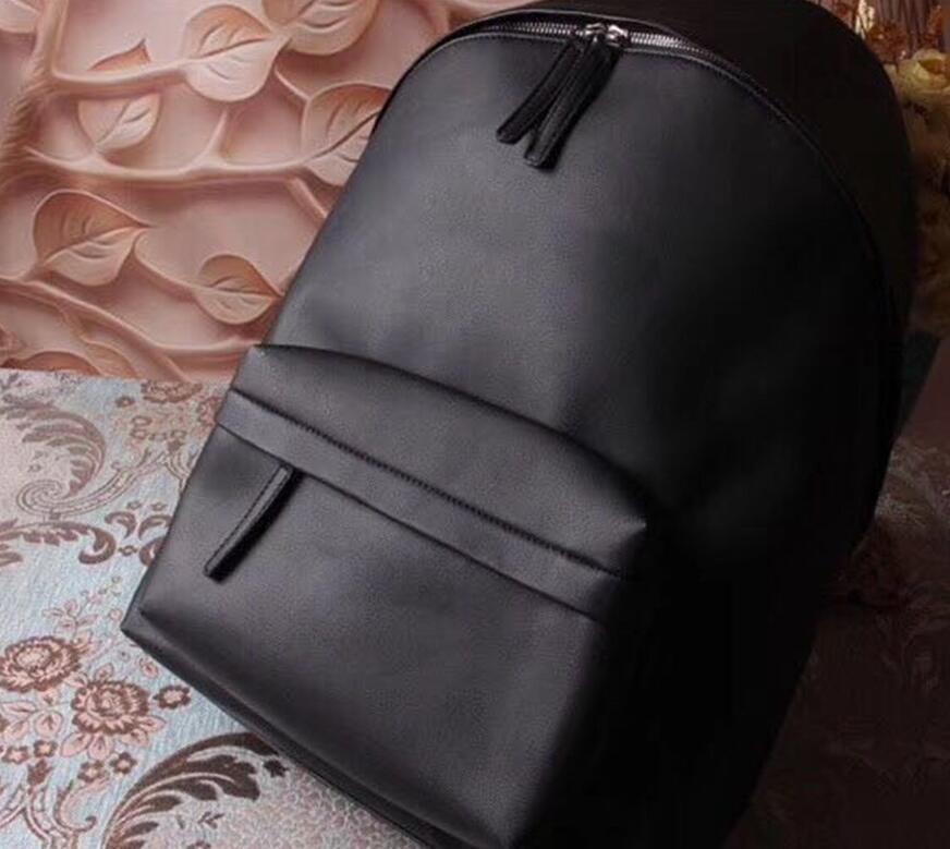 2020 Горячие продажи Человек Backpacks Оптовые сумки черный Высокое качество Мода Стиль Широкий ремень Комфортная