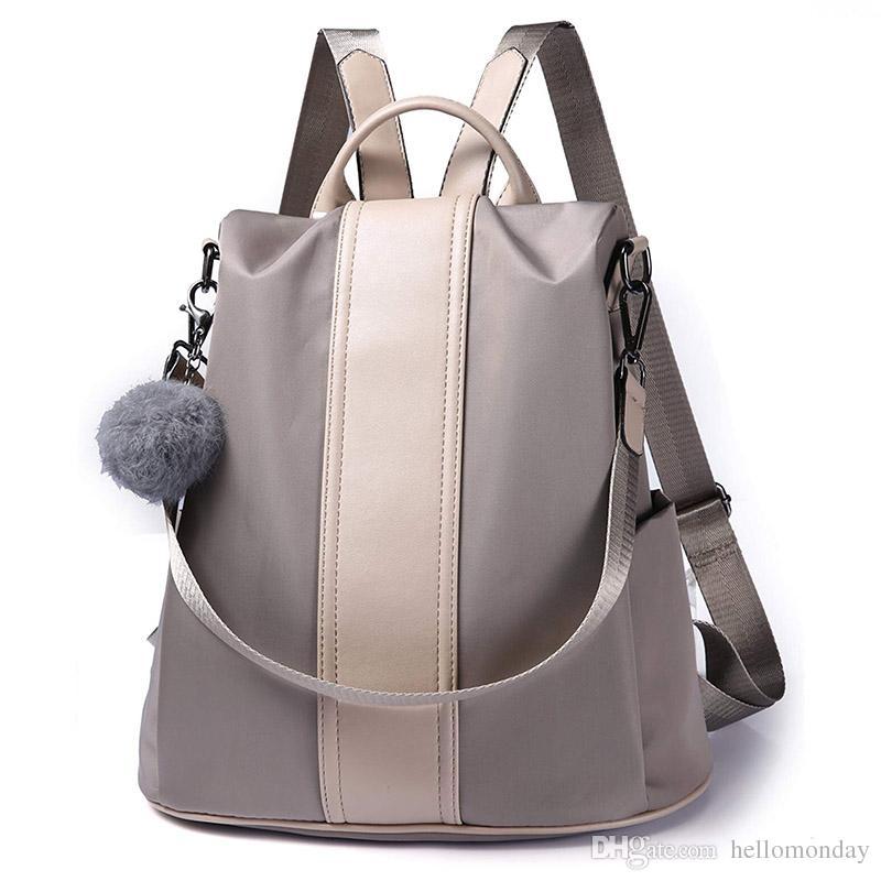 Big Handbag Shop Unisex Travel Lightweight Rainproof Fabric Backpack Rucksack