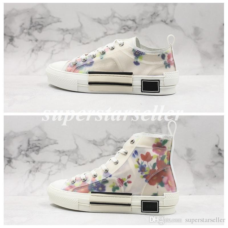 19SS Oblique High Low Top Turnschuhe Homme By Kim Jones Damen Designer Schuhe Fashion Stiefel Ace Sneaker Damen Trainer Chaussures Baskets