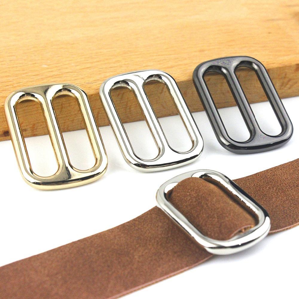 Brass Slider Tri Glide Buckle for Webbing Strap Purses Backpacks Handbag Crafts