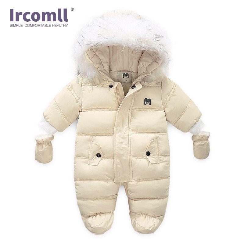 Ircomll الطفل المولود حديثا في فصل الشتاء سترة القفز دارى مقنع داخل الصوف بوي فتاة ملابس الخريف ملابس الأطفال ملابس خارجية Y200320