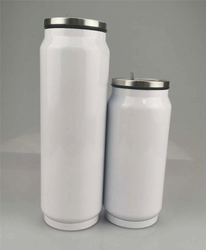 17 Unzen Sublimation tumbler Doppelvakuumflasche Edelstahlflasche cup Isolierung Trink mit freier Düse BPA Tragbares Cup A02