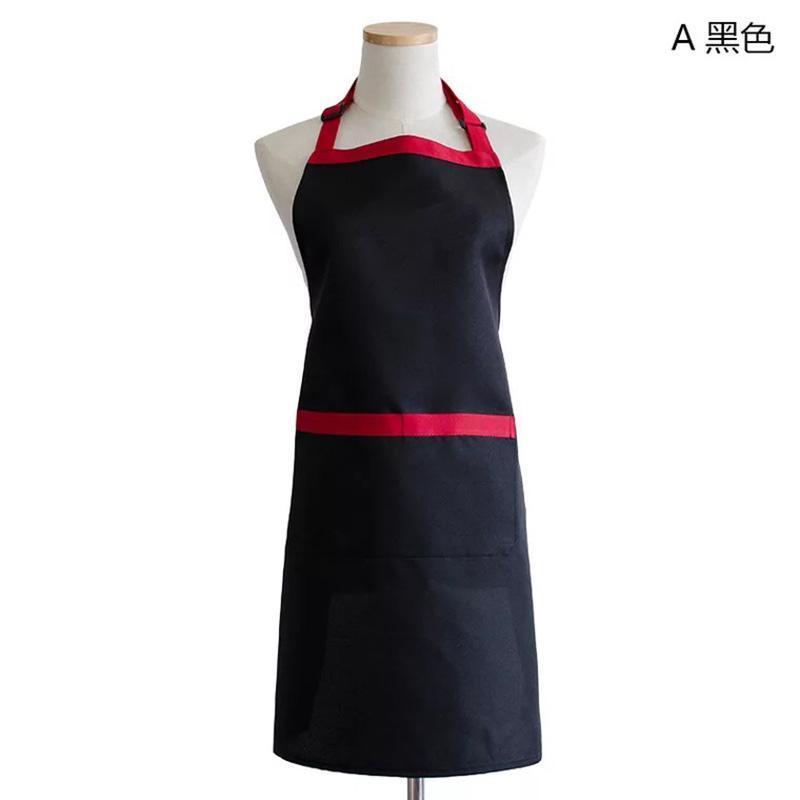 Lady Chefs Carnicerías delantal con bolsillo delantero de cocina Cooking babero Craft Hornear