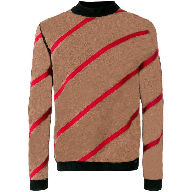 20SS 편지 남성 스웨터 풀오버 남성 새로운 까마귀 긴 소매 활동 운동복 편지 자수 니트웨어 겨울 의류 2,020 도매