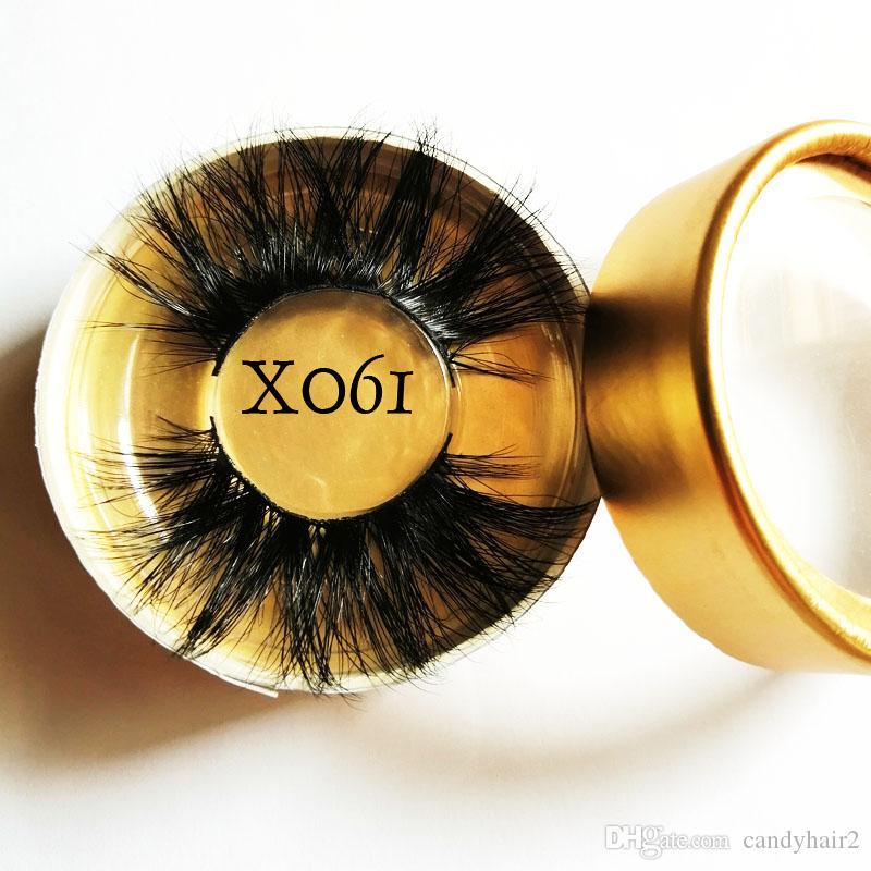 Mink Lashes 3D Mink Eyelashes Invisible Band Natural Black Mink False Eyelash Full Strip cilios posticos Reusable A1