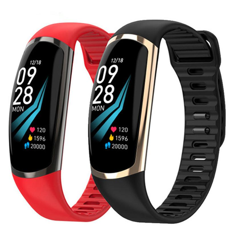 Smart Bracelet R16 Android IOS Heart Rate Band Sleep Monitor Blood Pressure Fitness Tracker Waterproof Color Screen Sport watchs