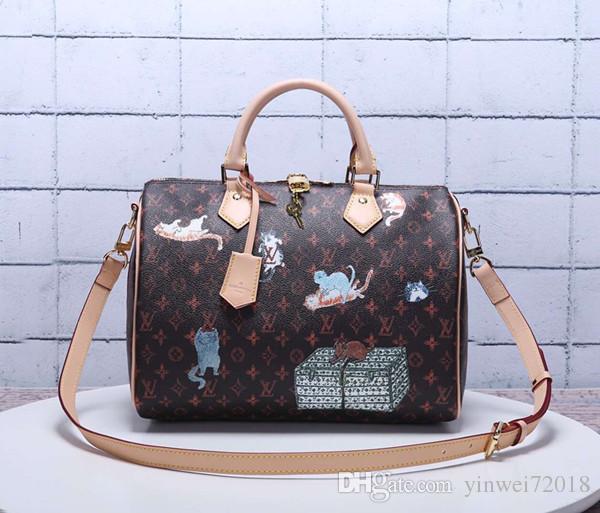 Mulheres de alta qualidade europeu e americano marca nova senhora bolsa de bolsa de couro Artística real bolsa BBB11
