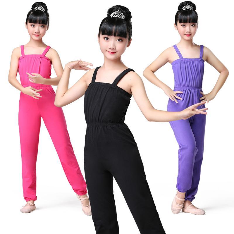 Çocuk Dans Kadın Bebek Dans Pantolon Tulum Kız Çince Bale Kız Kadınlar için Bale mayosu