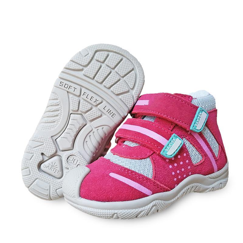 Super qualidade 1pair ortopédico menina crianças de volta duras Shoes arco Sneakers apoio genuíno couro Kids'