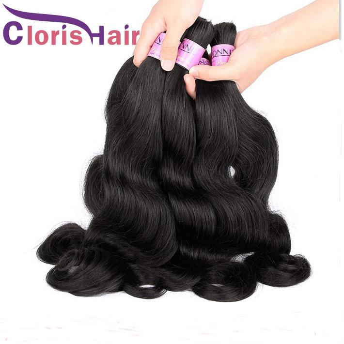 Wet Wavy No Weft Human Hair Bulk For Braiding Reliable Unprocessed Body Wave Raw Indian Bulk Hair Extensions Bundles 3pcs Colored DIY
