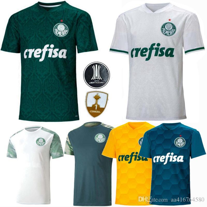 20 21 SE Palmeiras calcio maglia casa lontano terza formazione Palmeiras R. GOULART BORJA Moisés DUDU 2020 2021 di calcio Uomo Donna Bambini camicia 4XL