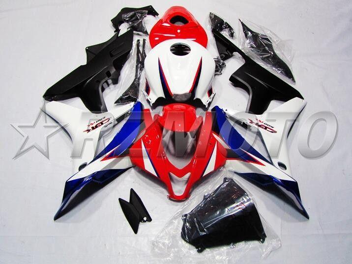 OEM Quality New ABS Vollverkleidungen Kits fit für HONDA CBR600RR F5 2007 2008 07 08 600RR Karosseriesatz Custom rot weiß Nice