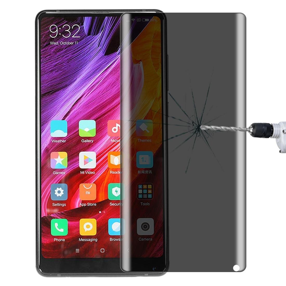 Per Xiaomi Mix 2 9H Superficie Durezza segretezza di 180 gradi anabbagliante della protezione dello schermo