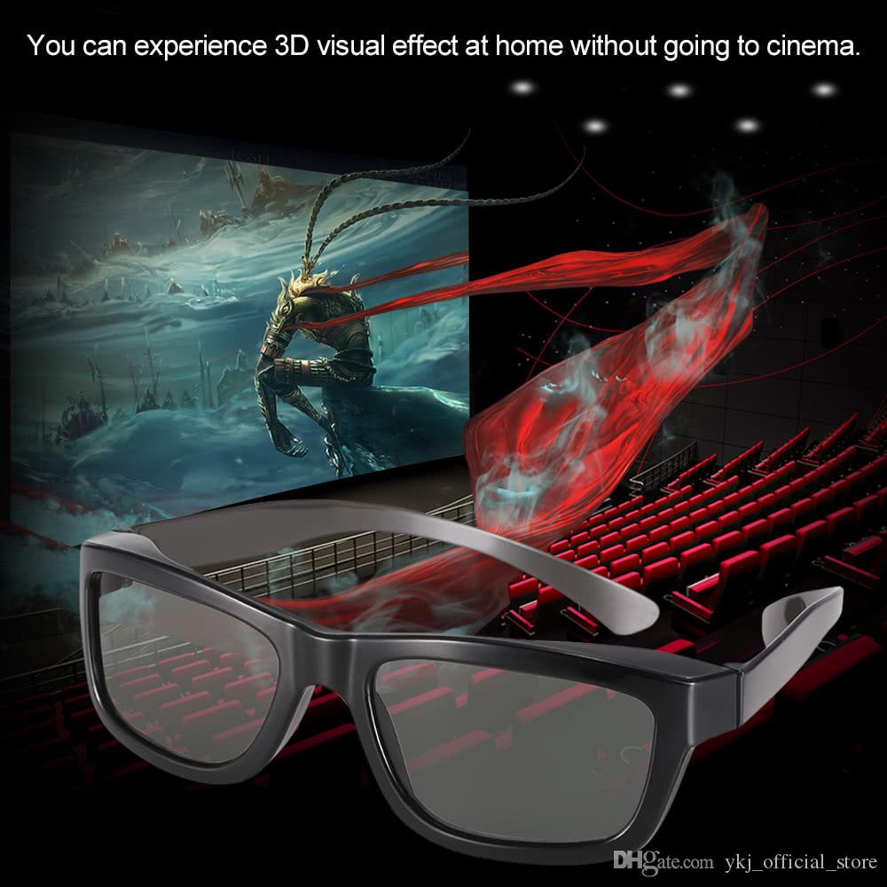 Passive 3D Glasses VR Virtual Reality Glasses Circular Polarized Lenses for Polarized TV Real D Movies Cinemas Theaters
