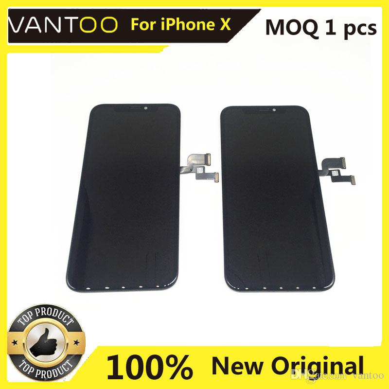 100% OEM ORIGINAL Lcd Display With Touch Screen Digitizer Full Assembly Cell phone repair Parts For iphone X XR XS MAX