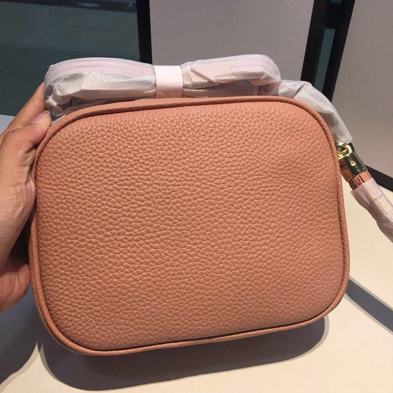 nappa di cuoio di modo delle donne delle signore di marca di lusso del progettista Handbags Purses Soho Disco zaino Portafogli Crossbody Borse 2019