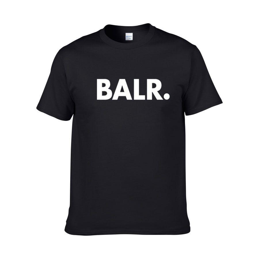 BALR Erkek Tasarımcı T Shirt Hip Hop Erkek Tasarımcı T Shirt Moda Marka Erkek Homme Kısa Kollu Büyük Boy T Shirt