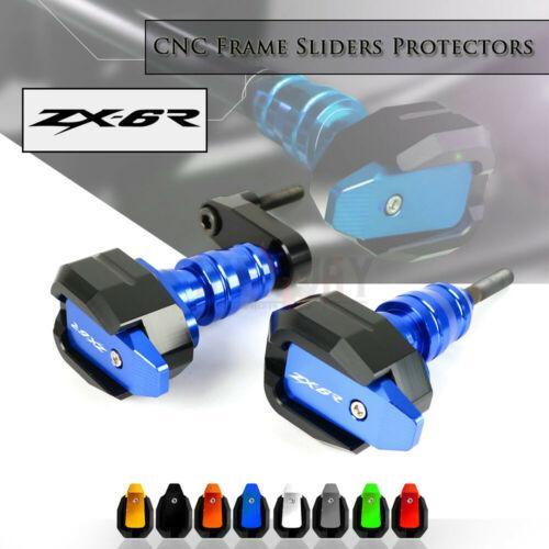 Motorcycle T Design Queda Quadro Proteção Slider Fairing Guard Anti Bater Pad Protector Para ZX6R 04-08