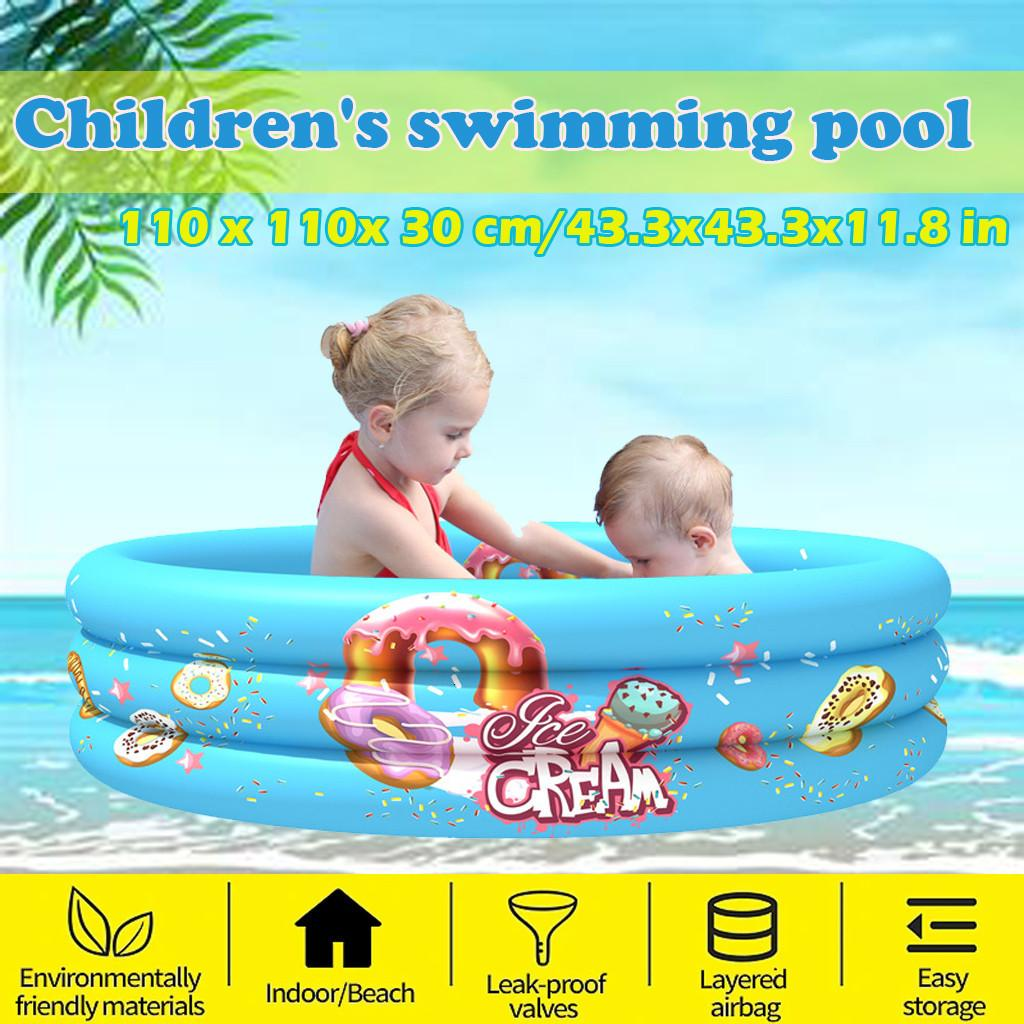 Swimming Children Inflatable Bathtub Kids Summer Water Fun Play Sand Pool Bath Toys Square Bathing Tub Outdoor