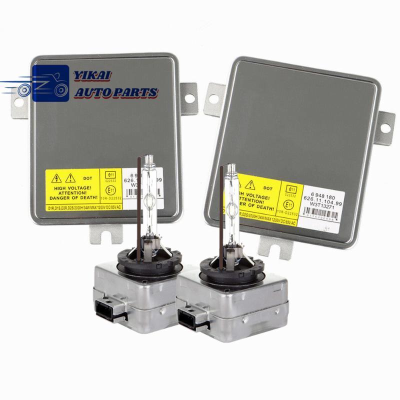 2x NOUVEAU pour 2006-2008 Série 3 E90 328i 330i 335i E91325i Xenon Ballast D1S ampoule HID contrôle phares W3T13271